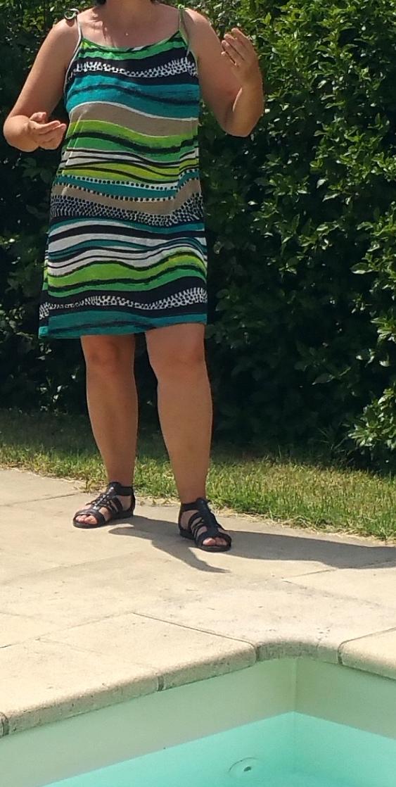 Réaliser une robe chic pour la plage