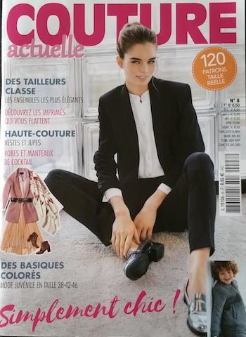 Réaliser les modèles de la revue couture actuelle n°8