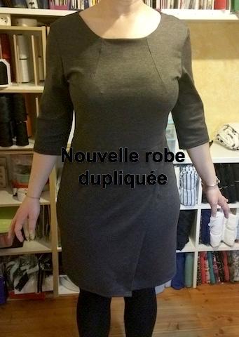 Refaire une robe à l'identique en ajoutant des manches