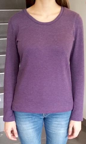 Coudre un tee-shirt manches longues en jersey