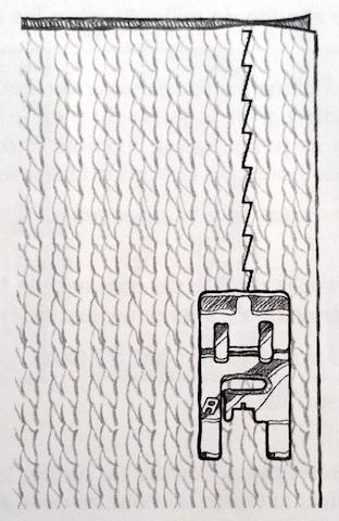 Point stretch élastique