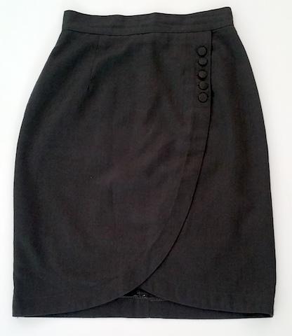 Elargir une jupe avec ceinture