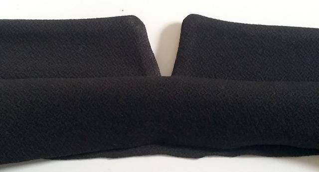 Assembler la ceinture de la jupe