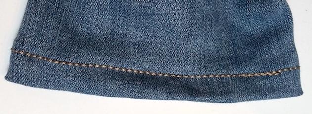 Faire l'ourlet d'un jean