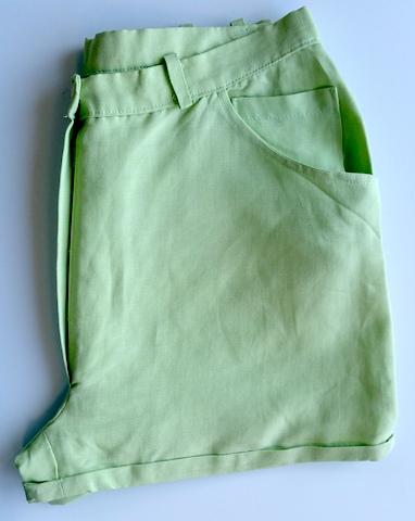 Coudre un short avec coupe jean